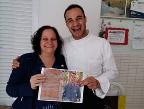 Chef do programa Vida & Saúde realiza curso de culinária saudável em Chapecó