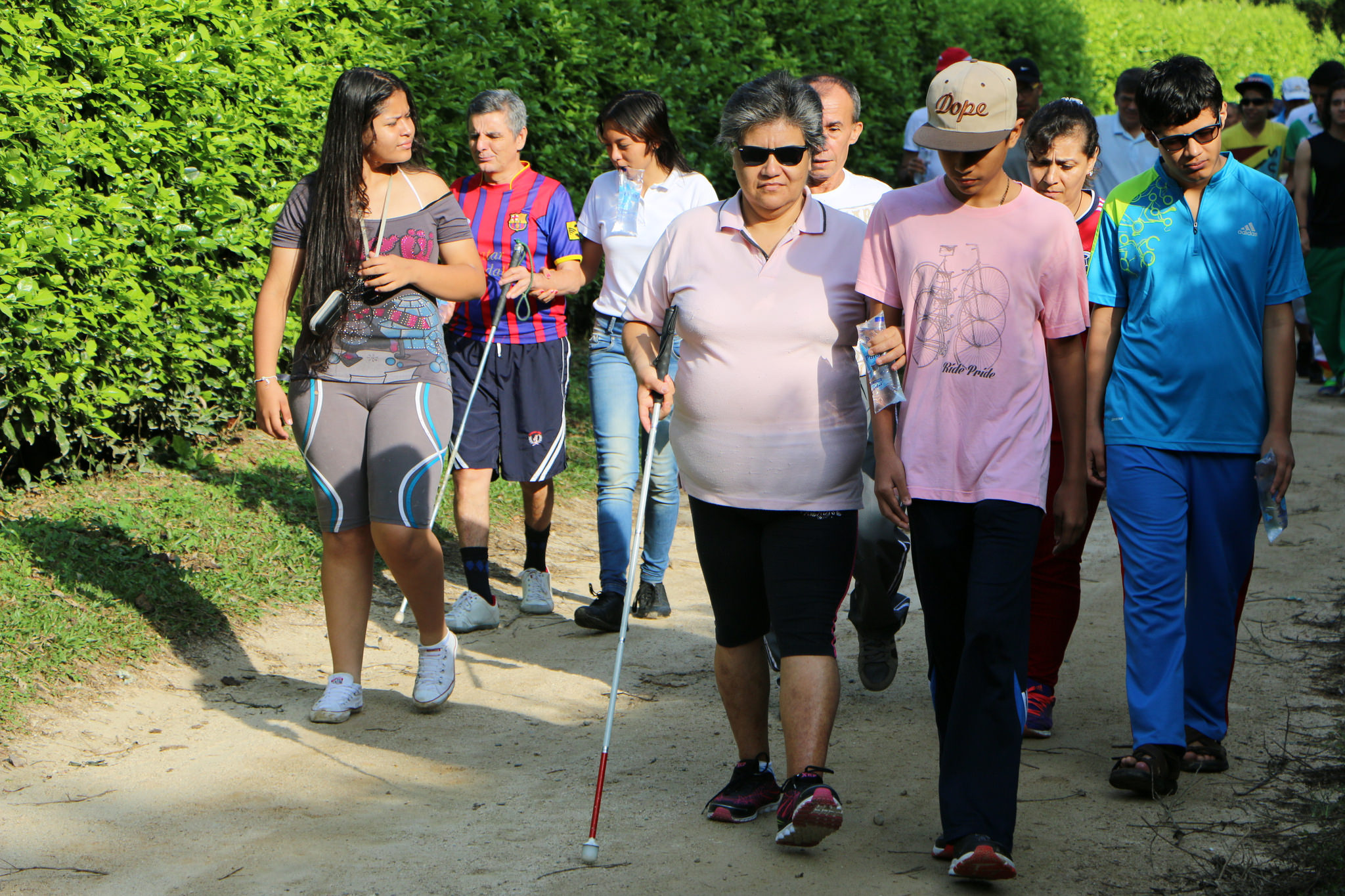 Adventist Church holds first camp for the visually impaired in North Colombia