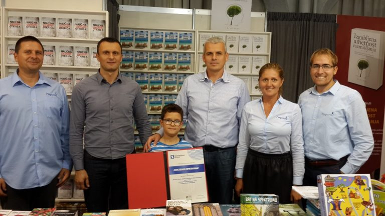 Serbian Publishing House wins award at Belgrade International Book fair