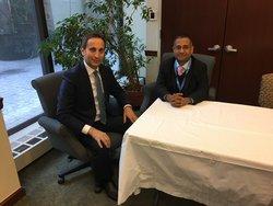 'Religious Freedom is a high priority for Church,' Adventist representative tells UN envoy