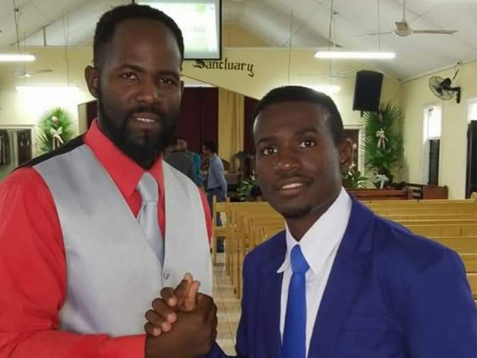 Friends Duran Bryan (left), 30, and Chavar Lewis, 31, drowned on December 31, 2018 after rough seas swept them away at Silver Sands beach in Duncans, Trelawny, Jamaica. They were attending the birthday celebration of a fellow member of the St. Ann's Bay Adventist church. [Photo: Facebook]