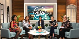 Dr. Payal Mukherjee (center) was a guest on Adventist Media's TV show Mums At The Table in October 2018, when she discussed pediatric hearing issues. Mukherjee is shortlisted for the New South Wales Woman of the Year Award 2019. [Photo: Adventist Record]