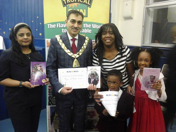 Mother and Two Children all get New Books Published