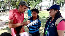 ADRA Columbia provides assistance to thousands of Venezuelan migrants