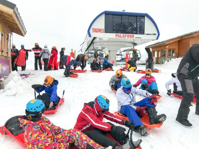 A Wedding Proposal at this Year's NEC Spring Ski Trip