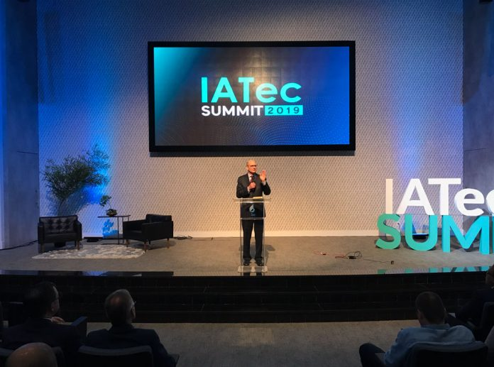 """Adventist Church president Ted N. C. Wilson encouraged technology professionals in South America at the 2019 IATec summit in São Paulo, Brazil. """"Participants in this event are using the talents to move the mission of the church forward, and I praise God for that,"""" he said. [Photo: South American Division News]"""