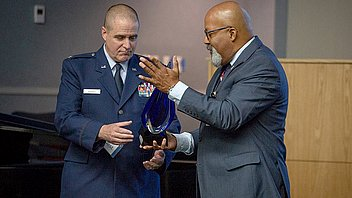 The Adventist Church in North America honors historic promotion of an Adventist Chaplain serving in the U.S. Air Force