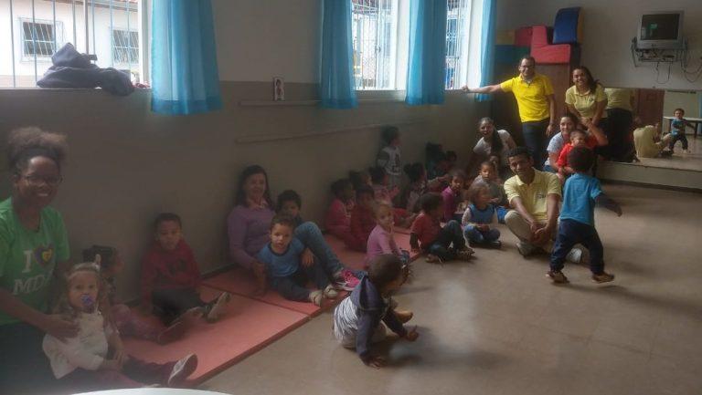 Um Ano em Missão inaugura projeto Música na Creche