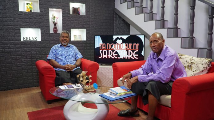 A popular show on Hope Channel Fiji discusses relationship issues. Many Fijians living abroad are watching this program and other Hope Channel programs through the Adventist channel's Facebook page. [Photo: John Tausere, Hope Channel Fiji]