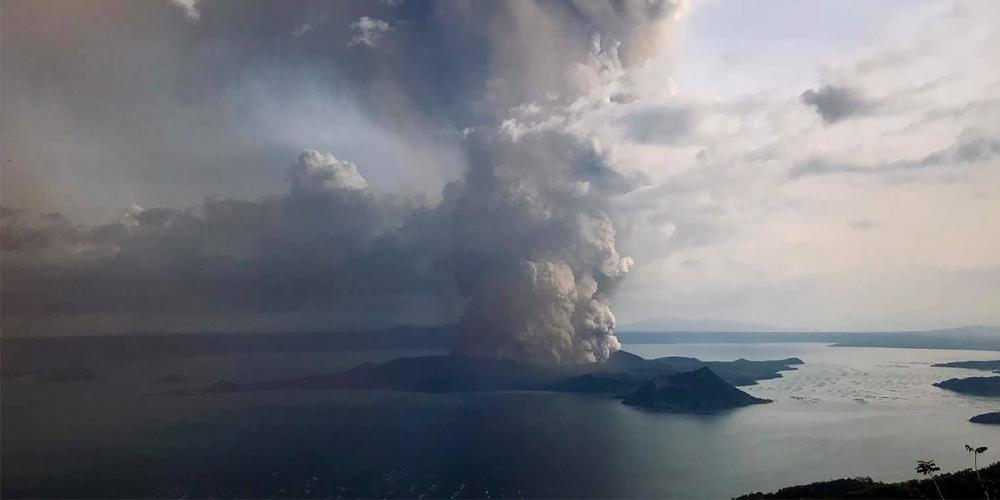Volcano es uno de los más activos en la localidad (Foto: Cortesía de Threena Tan)