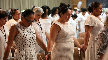 Sydney Adventist women stand united against domestic violence.