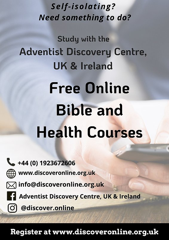 Discovery Bible Centre Online Courses :: Adventist Church in UK and Ireland