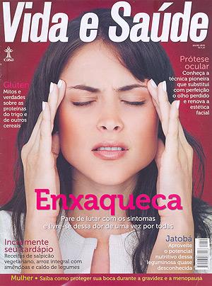 Capa da Revista Vida e Saúde.