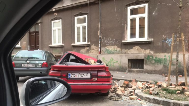 Zagreb Earthquake – damage to church property, members safe