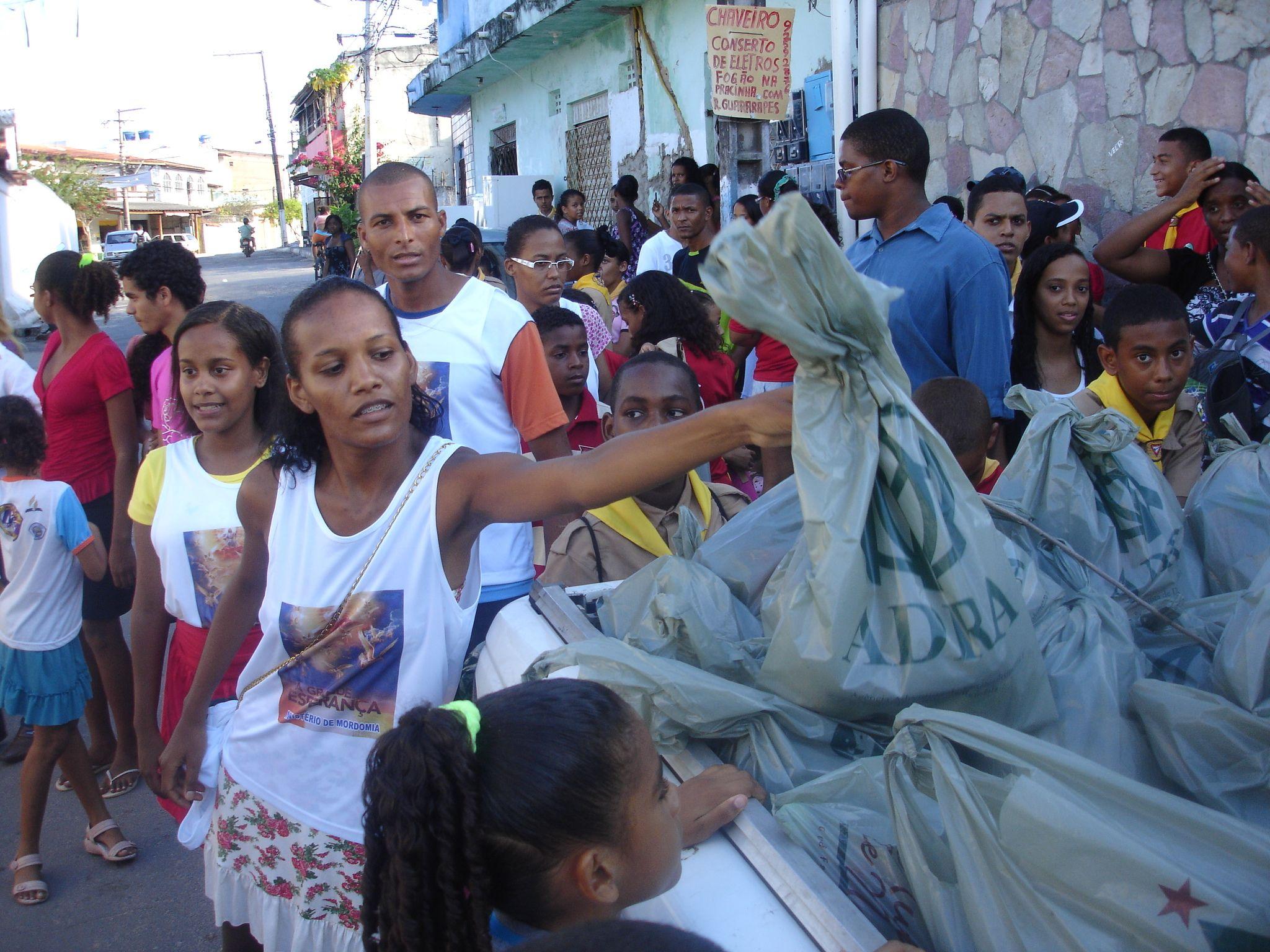 População foi motivada a dar um destino correto dos resíduos