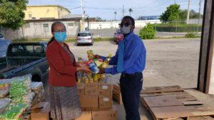 ADRA Jamaica contribute to COVID-19