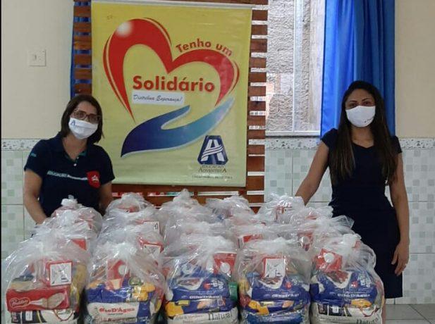 Escola Adventista promove projeto social e distribui mais de 600 quilos de alimentos