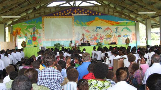 Adventist schools in Solomon Islands pay tribute to Australian volunteers