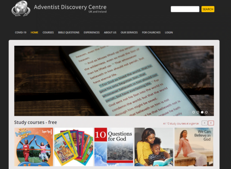 New Courses for Adventist Discovery Centre UK & Ireland