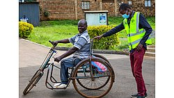 ADRA Gets Essential Items To Disabled In Kenya During Pandemic