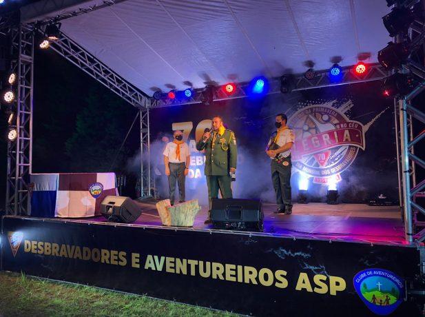 Carrori celebra 70 anos do Clube de Desbravadores