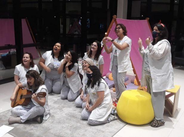 Escola aborda saúde bucal e medos noturnos com os estudantes