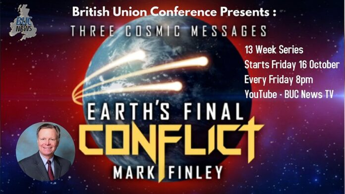BUC Presents: Three Cosmic Messages with Mark Finley :: Adventist Church in UK and Ireland