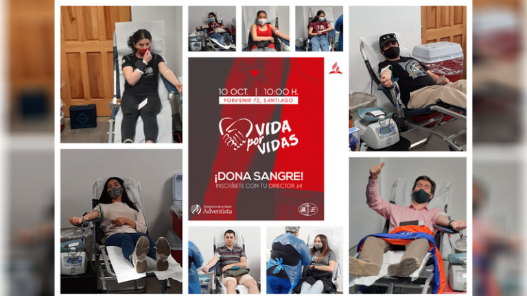 Adventist youth donate blood in Chile after COVID-19 pandemic :Adventist News Online