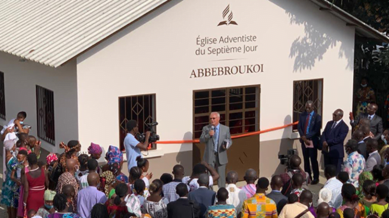 First Church Dedications in Côte d'Ivoire :Adventist News Online