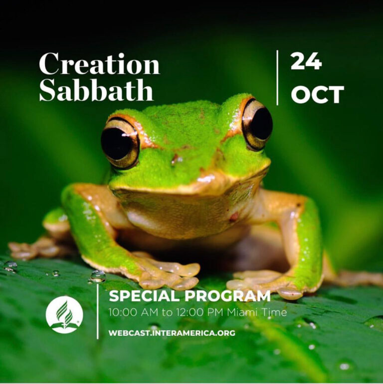 Inter-America To Feature Special 'Creation Sabbath' Program on October 24 – Seventh-day Adventist Church
