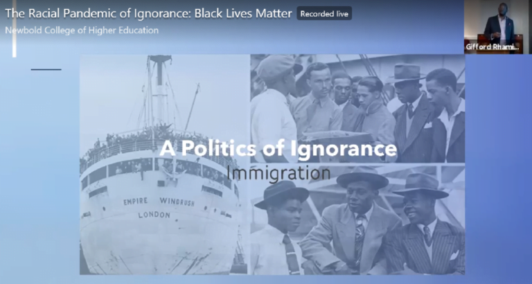 Newbold Diversity Seminar: The Racial Pandemic of Ignorance − Black Lives Matter :: Adventist Church in UK and Ireland