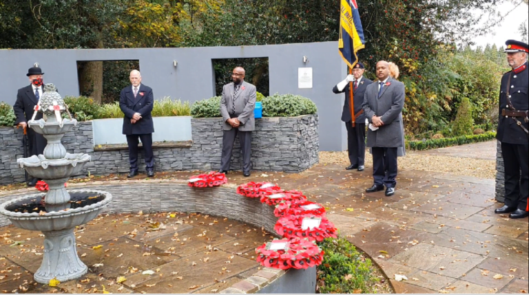 BUC Peace Garden Venue for Annual Remembrance Service in Watford :: Adventist Church in UK and Ireland