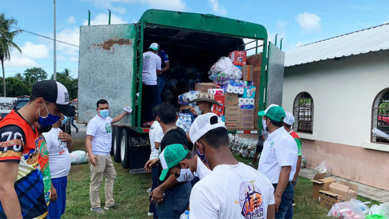 Panama Church Mobilizes to Assist Families Affected by Hurricane Eta :Adventist News Online