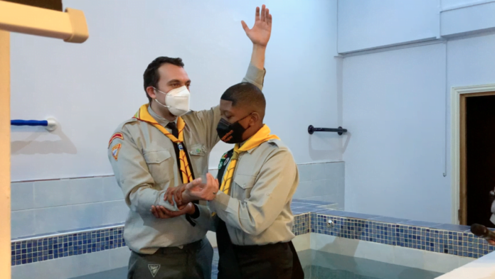 Pathfinder Baptism for Three Modern Day Pioneers :: Adventist Church in UK and Ireland