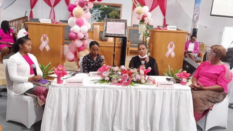 Sabbath School Leaders Promote Breast Cancer Awareness in Sint Maarten :Adventist News Online