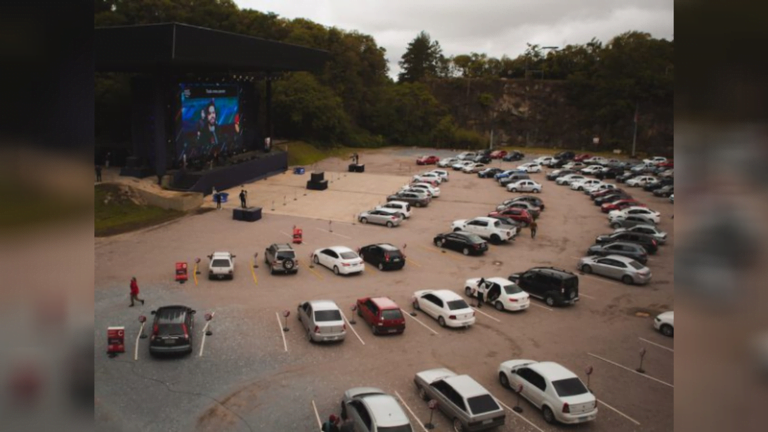 Drive-in Celebrates Impact Hope and Brings Those Interested in Bible Study Together