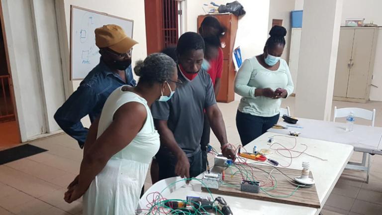 Adventist Church on Tortola Offers Free Electrical Maintenance Classes :Adventist News Online