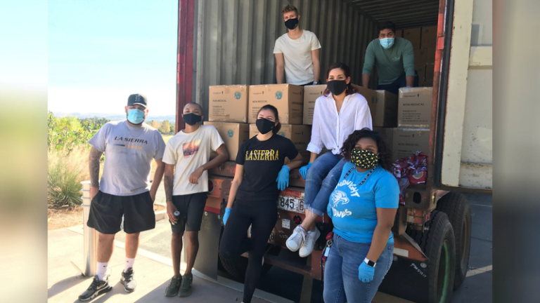 Southern California Covid-19 Cases Surge: Adventist Development and Relief Agency Partners with La Sierra University to Distribute Thousands of Masks to Impacted Communities :Adventist News Online