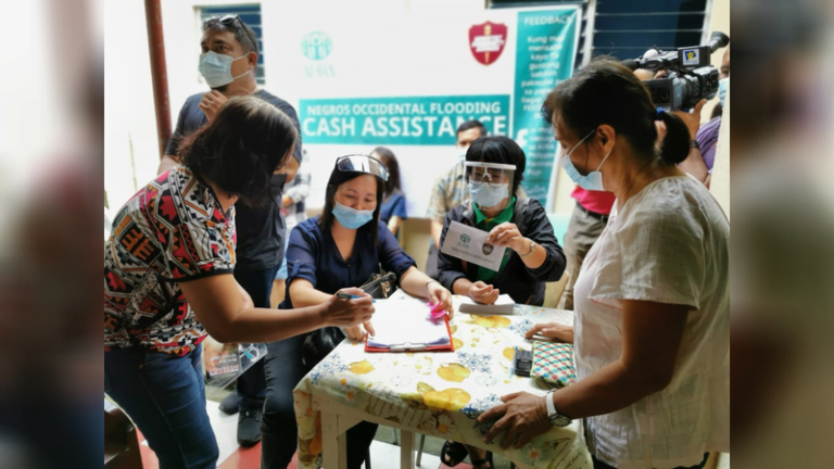 ADRA Works With Adventist Community Services In The Philippines To Help Families